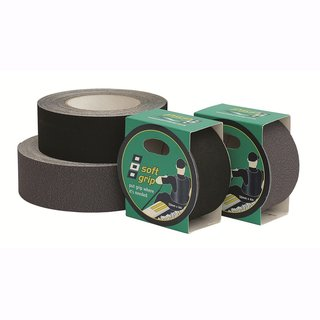 Soft Grip Rubber Tape 50 mm 4 m grau